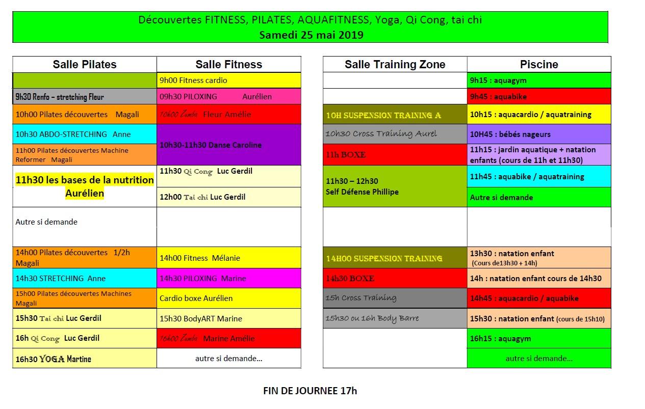 Planning PO 25 mai 19